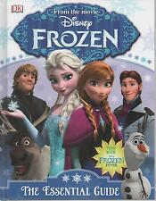 Frozen - The Essential Guide - From the movie NEW Children's Hardback Book 2015