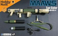 Hobby Nuts 1:6 Scale M3 MAAWS Carl G Recoilless Rifle Tan *Not Life Size* Toy!