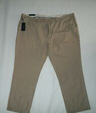 Polo RALPH LAUREN Classic Fit Tan Chino PANTS Slacks Big mens 52 B X 32 $98 NEW