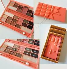 I HEART MAKEUP REVOLUTION CHOCOLATE BAR & PEACHES ~16 COLOUR EYESHADOW PALETTE