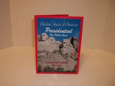 """USA Presidential One Dollar Coin """"New Collectors Album"""""""