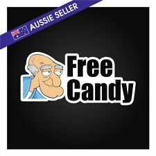 FREE CANDY Sticker - Funny JDM Decal Family Drift Jap VW 180sx R32 NP300 R31