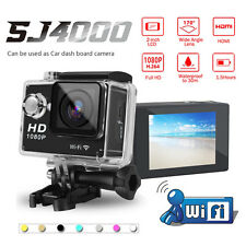 "SJ4000 2"" 1080P 12MP WIFI Action Camera HD Sports DV Helmet Camcorder Waterproof"