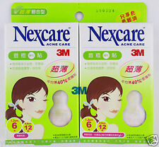 (special price offer) 3M Nexcare Acne Care 2size Ultra Thin Stickers(EXP:2019)