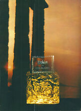 Publicité originale Fashion Léonard parfums 1971 flacon perfume