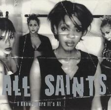 I Know Where It's At [Single] by All Saints (CD, Jan-1998, London (USA)