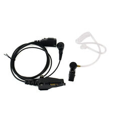 Covert Acoustic Tube Earpiece MIC Headset for Kenwood TK2140 TK-285 Radio Best
