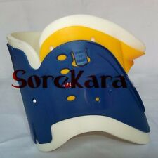 Neck Cervical Collar Adjustable Rigid Brace Whiplash Disc Locked Adjustable