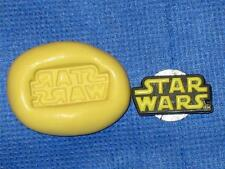 Star Wars Logo Silicone Push Mold #842 For Cake Chocolate Resin Clay Craft