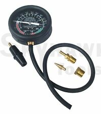 Vacuum and Fuel Pump Tester/Brass fittings  heavy-duty rubber hose