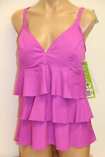 New Fit 4u Swimsuit Bikini Tankini 2 pc set Sz 22W Sherbet