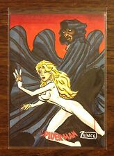 Cloak and Dagger Spider-Man Archives color sketch card 1/1 Buddy Prince