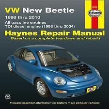 VW New Beetle 1998 Thru 2010 : All Gasoline Engines Tdi Diesel Engine 1998