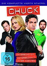CHUCK, Staffel 4 (5 DVDs) NEU+OVP