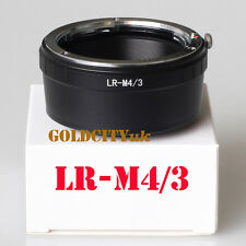 Leica R LR Lens To Olympus Micro 4/3 M4/3 Adapter GF3 GH3 EPL3 EPL1 G5 G3 E-PM2
