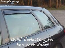 Wind deflectors for Honda Civic 7 EU EP EV 2000-2005 Hatchback 5doors rear