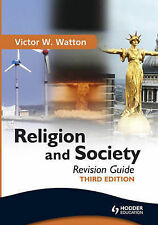 Religion and Society Revision Guide by Victor W. Watton (Paperback, 2010)