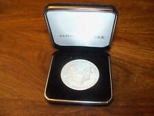 American Eagle 1993 United States of America Dollar Coin 1oz fine Silver in Case