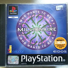 Sony PlayStation PS1 ~ Retro Spiel ~ WHO WILL TO BE A MILLIONÄR Gameshow