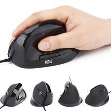 Ergonomico 6 Tasti USB Con filo Verticale Mouse w/DPI luce LED Indicatore