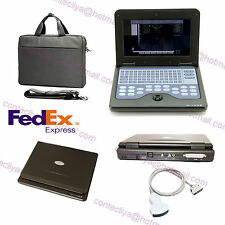 CE Contec CMS600P2 Laptop Ultrasound Scanner Machine With 3.5Mhz convex Probe