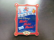 Disney Trading Pins 9664 12 Months of Magic - Movie Poster (Make Mine Music)