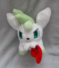 "RARE Nintendo 2010 - Pokemon - Sky Form Shamin - Soft Toy / Plush Teddy - 6"""