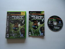 Tom Clancy's Splinter Cell Chaos Theory - Microsoft Xbox -  Complete in box