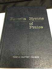 FAVORITE HYMNS OF PRAISE TEMPLE BAPTIST CHURCH 1979 TABERNACLE PUBLISHING CO.