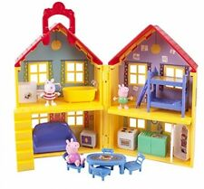 Peppa Pig's Deluxe House Kids Preschool Toys Baby Toddler Games Room Gift Home