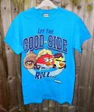 Wholesale Lot 24 Official Angry Bird 'Let the Good Side Roll' Star Wars T-Shirts