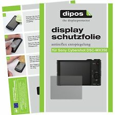 6x dipos Sony Cybershot DSC WX350 screen protector protection anti glare
