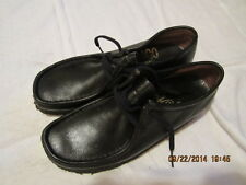 Preowned Women's Size 9 Sebago Brand Black Leather Shoes