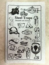 """Book-Vance - Steel Traps """"Obsolete and Antique"""" Traps  Trapping  Duke"""