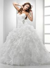 Maggie Sottero & Midgley Chrystelle sweetheart Organza Ball Gown Wedding Dress