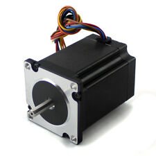 "NEMA23 282oz/in 3A Stepper Motor ¼"" Dual shaft (KL23H276-30-8B)"