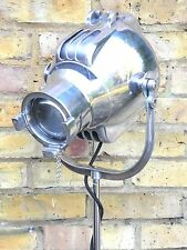 VINTAGE Teatro Film Spot Light Lampada da Terra STUDIO INDUSTRIAL ANTICO ANNI'50 London