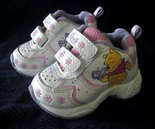 WHINNIE THE POOH GIRLS INFANT ATHLETIC SHOES SZ 2