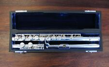 Pre-Owned MATEKI Flute - MO 062 w/Solid GOLD Riser - Re-padded PERFECT !!