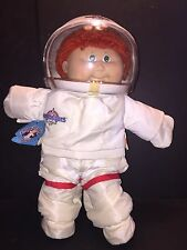 Coleco Cabbage Patch Kids Young Astronaut Doll 1986 Xavier Roberts Red Hair