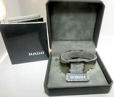 RADO DIASTAR STAINLESS STEEL AND GOLD TONE MENS WATCH