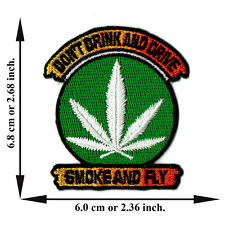 Marijuana Leaf Bob Marley Reggae Rasta Song Weed V11 Applique Iron on Patch Sew