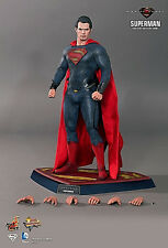 HOT TOYS MAN OF STEEL SUPERMAN MMS200 ACTION FIGURE W/ KRYPTONIAN COMMAND KEY!