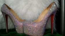 Christian Louboutin Daffodile Strass crystal so kate pigalle 120mm  39.5 9  9.5