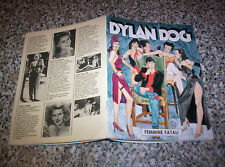 DYLAN DOG FEMMINE FATALI SUPPLEMENTO A GLAMOUR IO DYLAN E LE DONNE 1990 OTTIMO