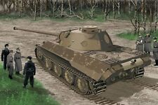 1/35 Dragon 6830 - WWII German Panther Ausf.D V2 Versuchsserie Plastic Model Kit