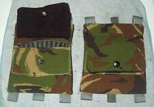 SKS RUSSIAN/ SWISS RIFLE/ butt stock AMMO pouch / BRITISH DPM/ CAMO/ REENACTING