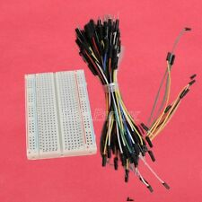 Prototype Board Electronic Deck 400 + 65pcs Breadboard Tie line Jumper cable