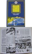 Le Mans 1949-57 Ferrari Jaguar Mercedes wins at le Mans Book of mag. articles