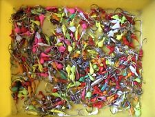 Lot of 100 JIG HEADS Mixed Sizes and Colors Saltwater Freshwater jigs T&A JIGS